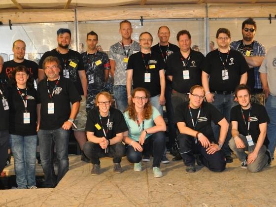 Gruppenbild MMMV22 Maker Faire 27.08.2017 in Hannover