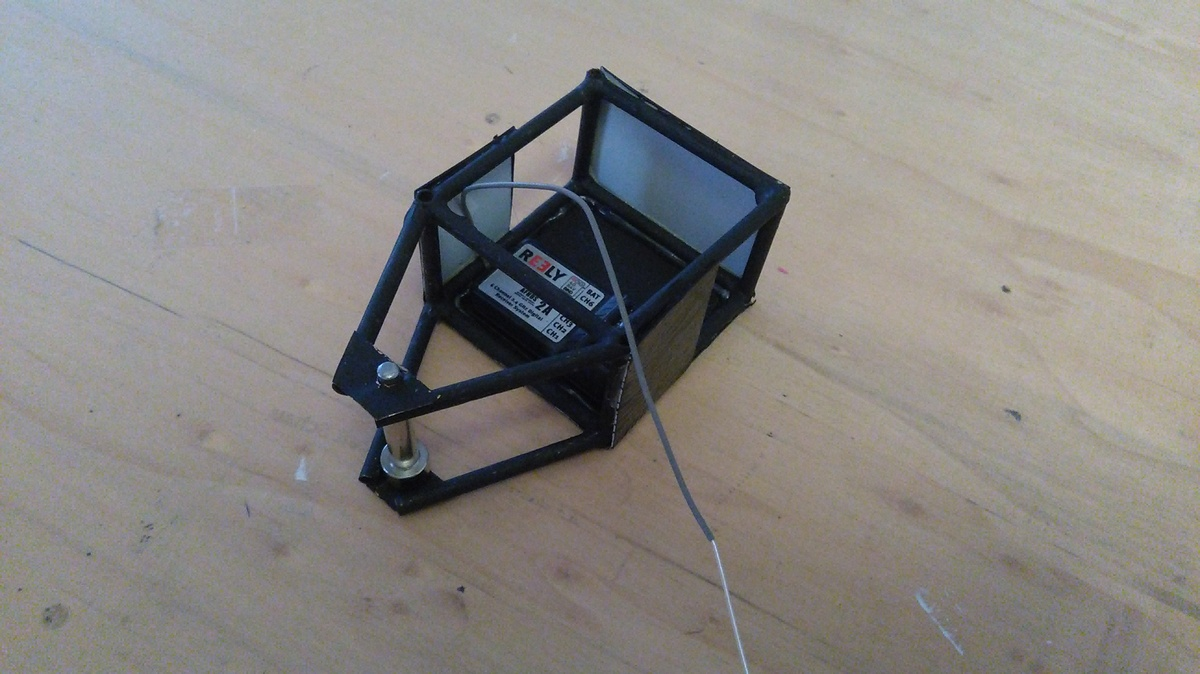 Mikro- Grabstein Rahmen+ Panzerung
