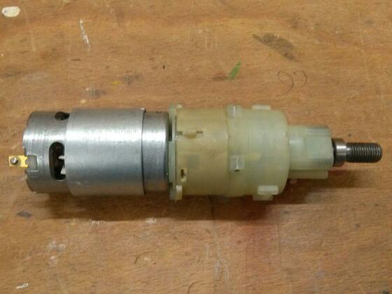 Motor+ Getriebe