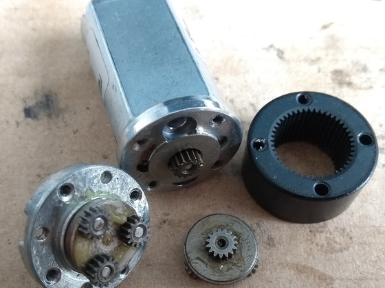 BristolBotBuilders Planetary Gear Motor