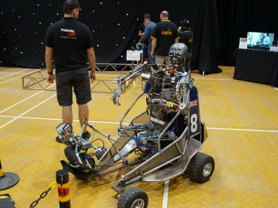 Extreme Robots / Colchester (England) 2019