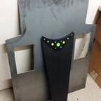 Bodenplatte + Seitenpanzerung