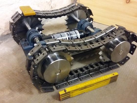 Mini Matilda Antrieb 2