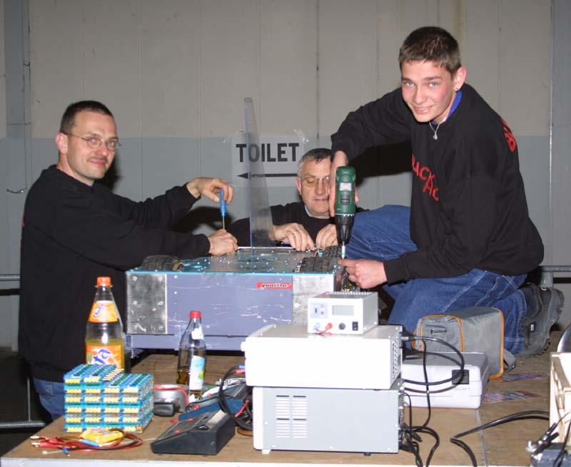 Team Kaputo Anfang 2003