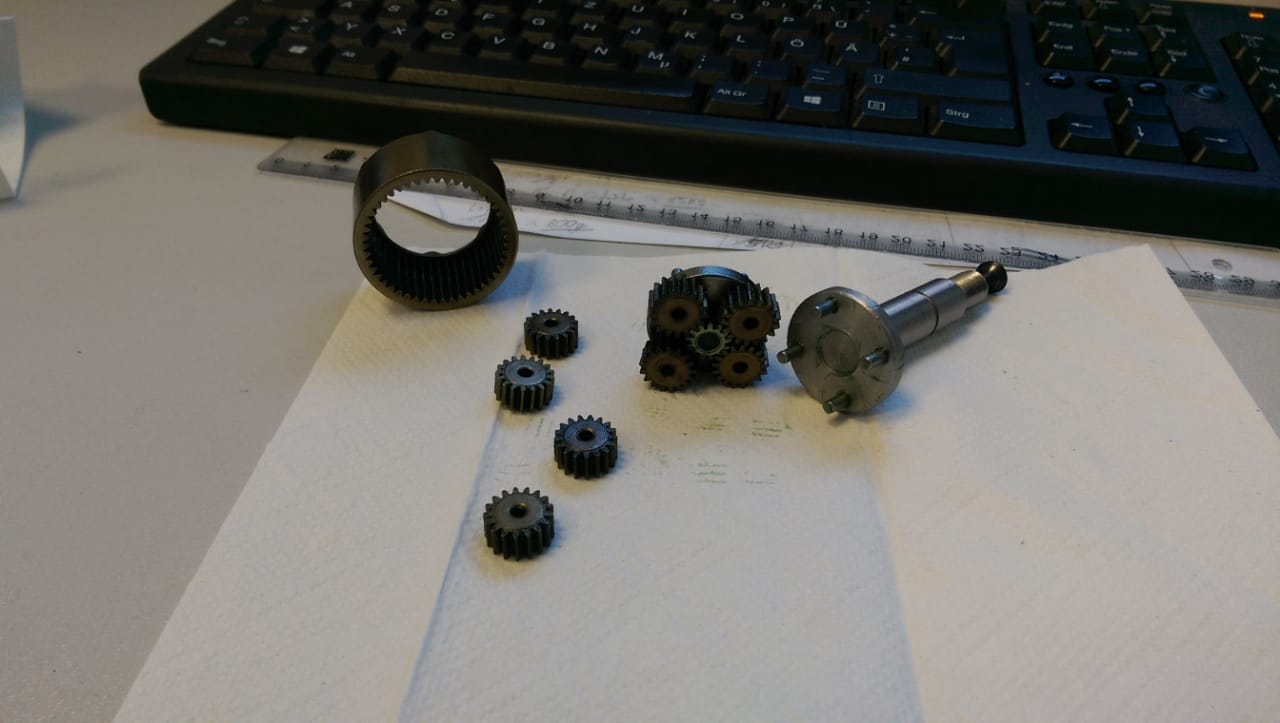 Akkuschrauber Getriebe