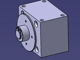 Kackeblaster Getriebe Antrieb vordere Hälfte