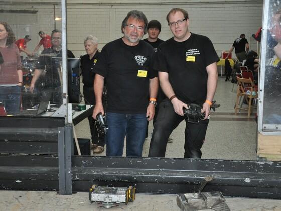 Team IBF - Reiner und Team InPanic - Replikator - Andreas . 2018