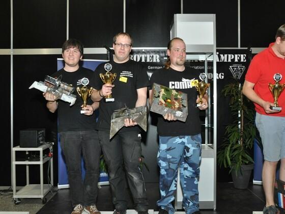 Sieger MMMv.23 Raptorweight (6Kg)