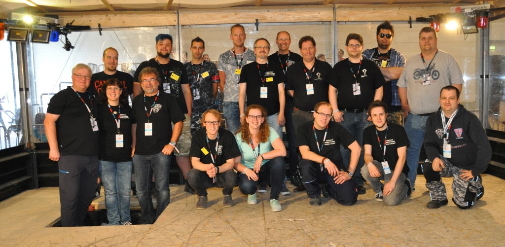 Gruppenbild MMMV22 Maker Faire 27.08.2017 in Hannover