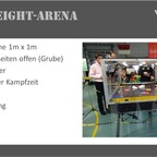 Antweight Arena Bochum Overview